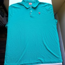 Nike Polo Tiger Woods Frank the Tiger Golf Neptune Green Masters xxl - $125.00
