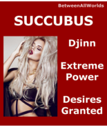 Sexy Female Succubus Djinn All Desires Granted & Betweenallworlds Wealth... - $165.21