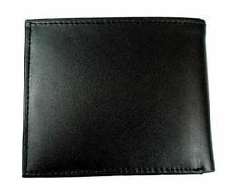 Tommy Hilfiger Men's Leather Credit Card Wallet Billfold Black 5675-01 image 5