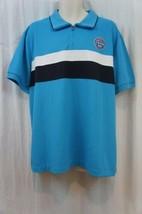 Izod Perform Mens Casual Polo Shirt Sz XL Hawaiian Ocean Blue Collared P... - $29.73