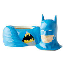 "10.5"" High DC Comic Batman Stoneware Cookie Jar Celebrates 80th Anniversary image 2"