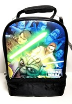 Star Wars Clone Wars Insulated Thermos Lunch Tote Bag 11 x 7 NWT - $9.82