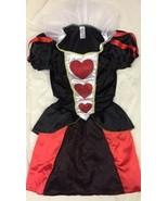 Disfraz de Reina Corazones Sexy Tutu Vestido Mini Alice IN Wonderland Pu... - $24.55