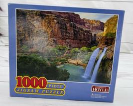 Hoyle - Canyon Water Falls - 1000 Pc Jigsaw Puzzle - 2005 - M - $13.85