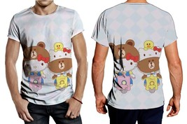Hello Kitty And Brown Scooter Tee Men - $23.99