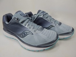 Saucony Breakthru 4 Size 8 M (B) EU 39 Women's Running Shoes Blue Grey S10419-4