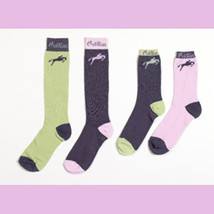 Ovation Riding Socks Sweet Mint Fashion Kids 7-9 NEW! - $185,37 MXN