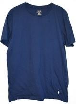 Polo Ralph Lauren Men's Navy Blue Classic Fit Crew Neck Cotton T-Shirt Size L