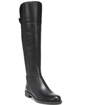 Franco Sarto Christine Tall Riding Black Boots Women's Shoes - Size 6M - $110.08