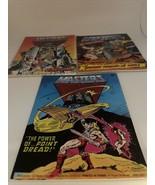 Vintage 1983 & 1985 Mattel MOTU He-Man Mini Comic Books Lot Of3 - $89.10