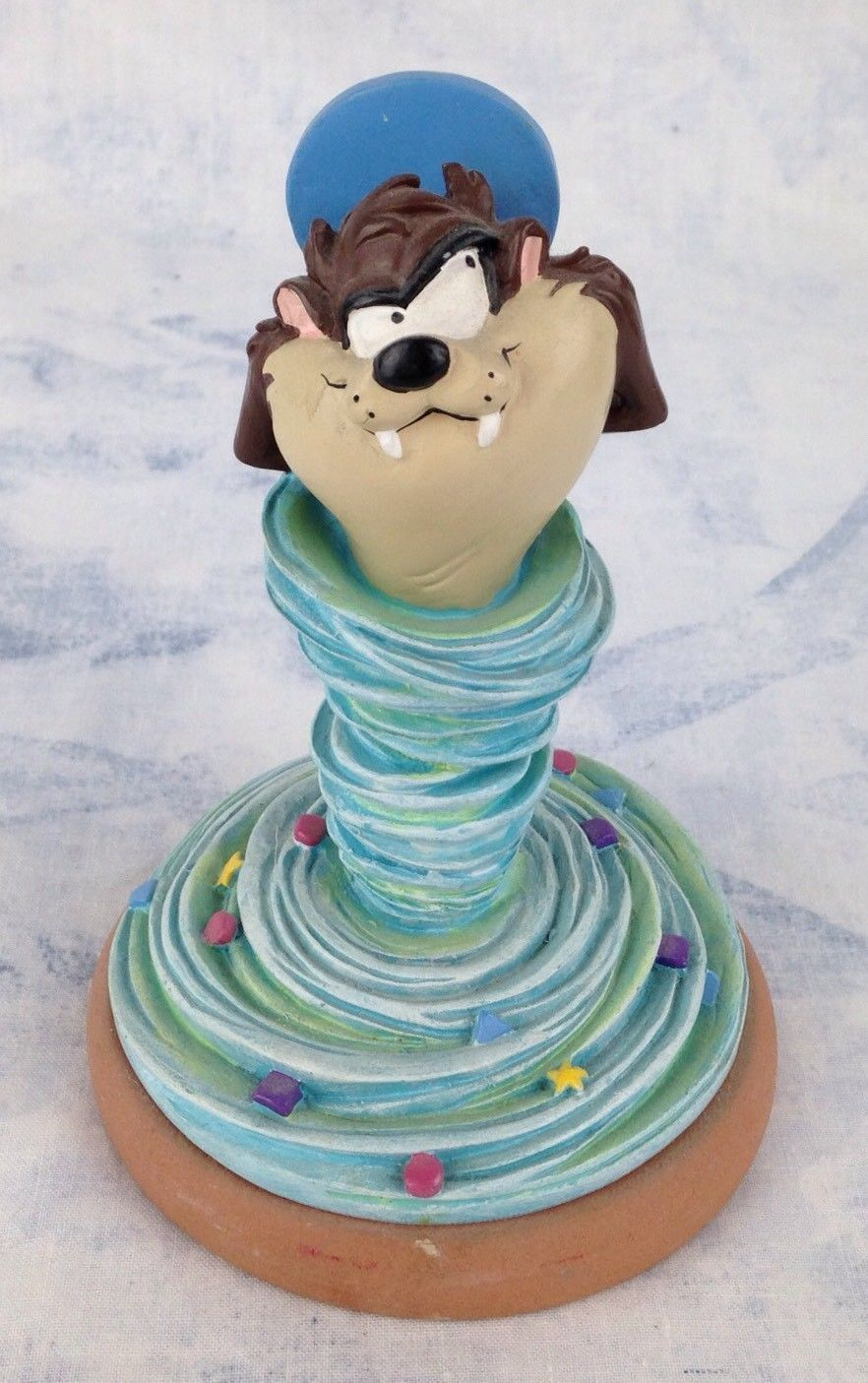 Primary image for Extremely Rare! Looney Tunes Taz Tasmanian Devil Tornado 1997 Figurine Statue