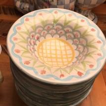 Set of  12 MACKENZIE CHILDS Pottery Aalsmeer Soup Salad Bowls - Rare & R... - $712.80