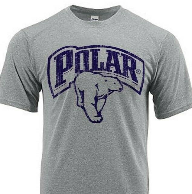Polar Beer Dri Fit graphic beer T-shirt moisture wicking sun protection SPF tee
