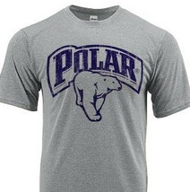 Polar Beer Dri Fit graphic beer T-shirt moisture wicking sun protection SPF tee image 1