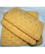 Handmade Wash Cloths Cotton Set of 3 - $9.95