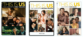 This is Us Complete Seasons 1-3 DVD Collection 1 2 3 Brand New Sealed Fr... - $38.95