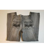 NWT Route 66 Boys Youth Slim Straight Jeans Size 12 Black Denim Pants - $12.99