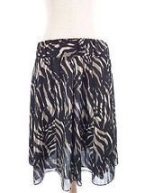 Alfani M Black & Beige Safari Skirt Size Medium - $18.00