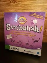 Cranium Scribblish Board Game Hasbro Brand New Sealed Family Board Game - $24.70