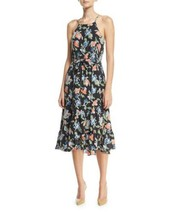 Joie Deme Dress Halter Silk Multicolor Floral Women Sz XXS NEW NWT - $225.00