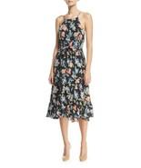 Joie Deme Dress Halter Silk Multicolor Floral Women Sz XXS NEW NWT - $225.00