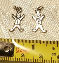 BOY STERLING SILVER CHARM STAMPED .925 image 2