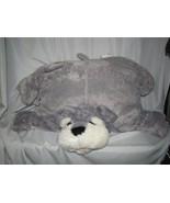 "USED 26"" Long Jumbo Pillow Chums-- Kellytoy--SCHNAUZER DOG - $49.49"