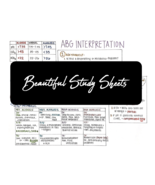 ABG Interpretation - NurseExplained - Study Sheets - $1.59