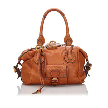 Pre-Loved Chloe Brown Others Leather Paddington Handbag France - $330.99