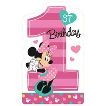 Minnie Mouse Fun to Be One 8 Postcard Invitations 1st Birthday Party - $5.93