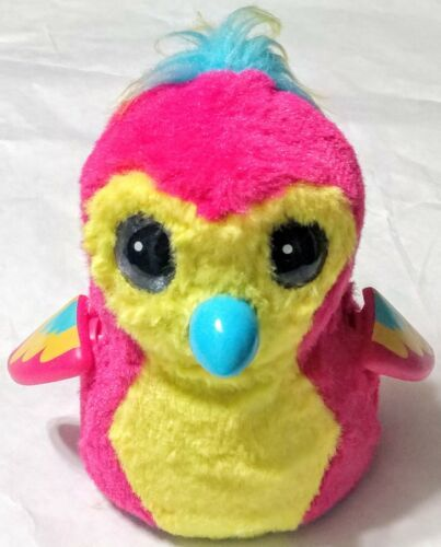 Hatchimals Pengula Series Spin Master Pink Yellow Already Hatched WORKS