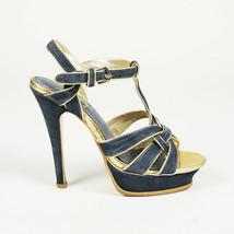 Yves Saint Laurent Tribute Suede Sandals SZ 37 - $335.00
