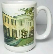Graceland LARGE Coffee Mug Memphis Tennessee History House Photo Elvis P... - $18.66