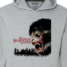 An American Werewolf in London hoodie retro horror movie classic 1980s film image 2