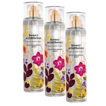 3-Pack Bath & Body Works Honey Wildflower Fine Fragrance Mist Spray 8 fl.oz - $37.99