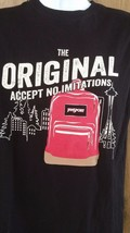 Jansport Original Accept No Limitations Backpack T Shirt Size M Journeys... - $21.03