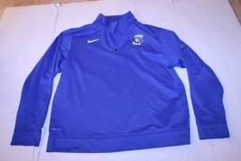 Juniors Creighton Bluejays XL Athletic 1/4 Zip Jacket Nike Dri-Fit - $16.82