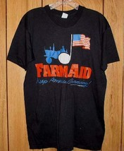 Tom Petty Farm Aid First Concert Tour T Shirt Vintage 1985 - $389.99