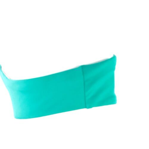 L Space Color Block Bikini Bottom Boho Arrow Coral Womens M Medium Hipster