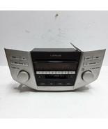 07 08 09 Lexus RX 350 RX 400h AM FM cassette 6-disc CD radio receiver AP... - $178.19
