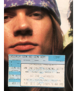 Ultra Rare Ticket Stub - Guns n Roses The Cathouse 1989 small venue early show - $866.00