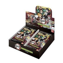 BANDAI Demon Slayer Kimetsu no Yaiba Stained Glass Card  BOX JAPAN Pack ver. - $60.39