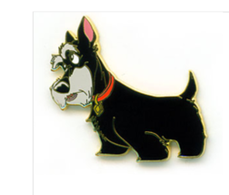 Jock of Lady and the Tramp Authentic Disney Pin - $43.00
