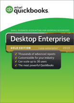 QuickBooks Enterprise 2019 Gold Edition, 4-User (1-year subscription) - $2,970.00