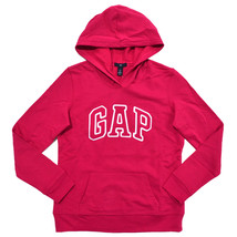 NWT Women's GAP Arch Logo Pullover Hooded Sweatshirt Hoodie XXL Red or Blue $40 - $18.77