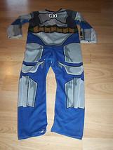 Boys Size Small 4-6 Star Wars Jango Fett Halloween Costume Jumpsuit Rubi... - $24.00