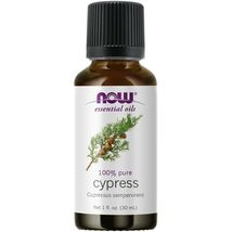NOW FOODS 100% Cypress Oil , 1 oz, FRESH,  Made In USA - $21.68