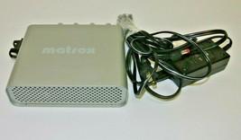 Matrox MX0-BOARD 63039621389 MQ00390 External Video I/O w/ power supply - $74.99