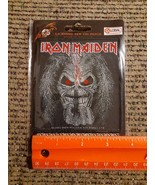 Official Licensed 2013 Iron Maiden Rock Band WOVEN Sew on Patch NEW - $24.50