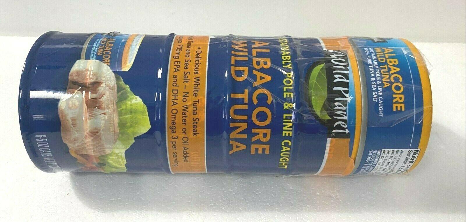 6-PK Wild Planet Wild Albacore Tuna, No Salt Added, 5 oz Cans 8/23